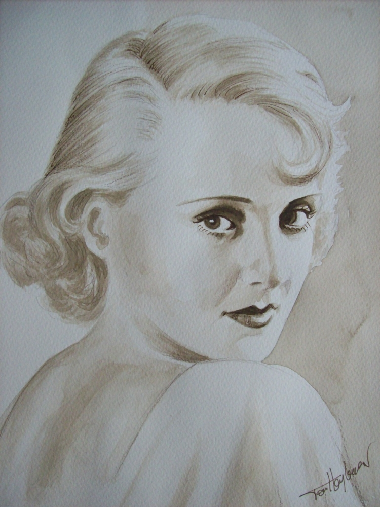 Bette Davis by Tom-Heyburn